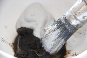 Koffieprut voor cementlook DIY