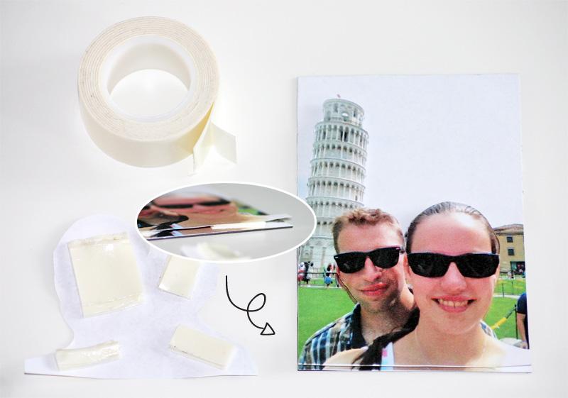 Zelfgemaakte 3D vakantie koelkastmagneet 4