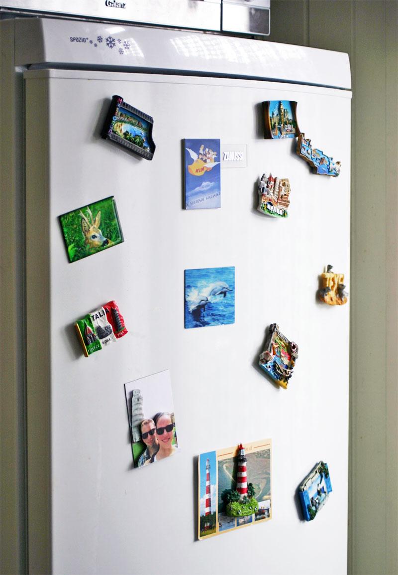 Zelfgemaakte 3D vakantie koelkastmagneet 5