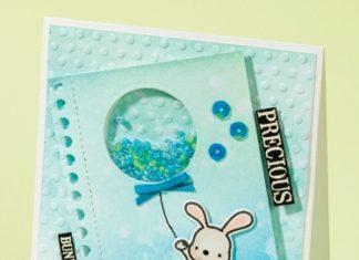 baby shakerkaart