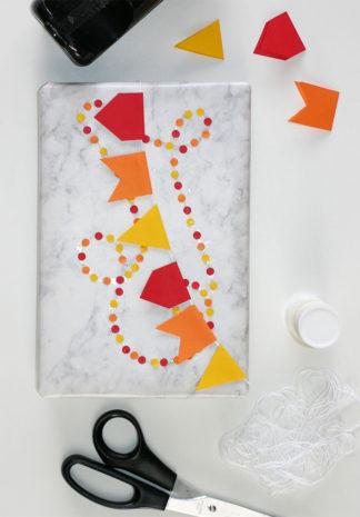 Jouw cadeau feestelijk inpakken? Confetti en vlaggetjes!