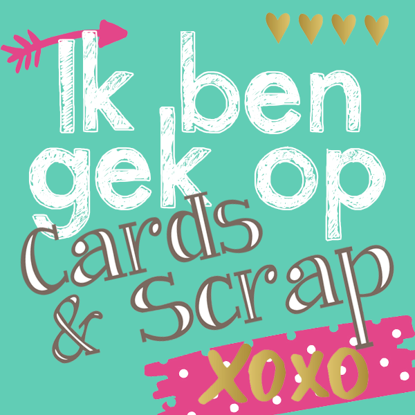 Ik ben gek op Cards and Scrap!