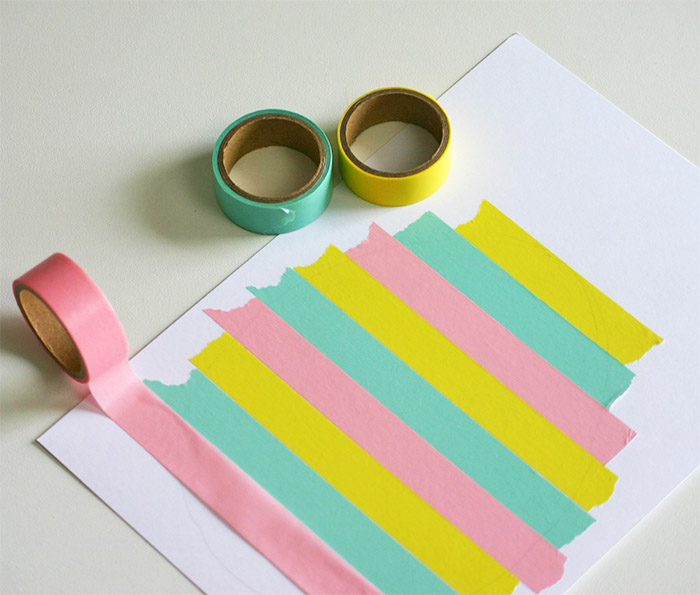 DIY papieren paasei printable