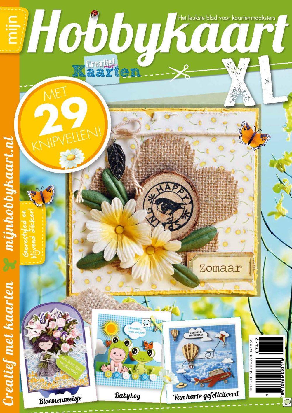 Mijn hobbykaart xl 74 ook voor tablet ipad hobbyhandig - Deur tijdschrift nieuws ...