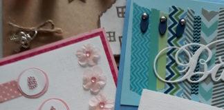 washi tape kaarten
