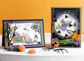 happy halloween kaart