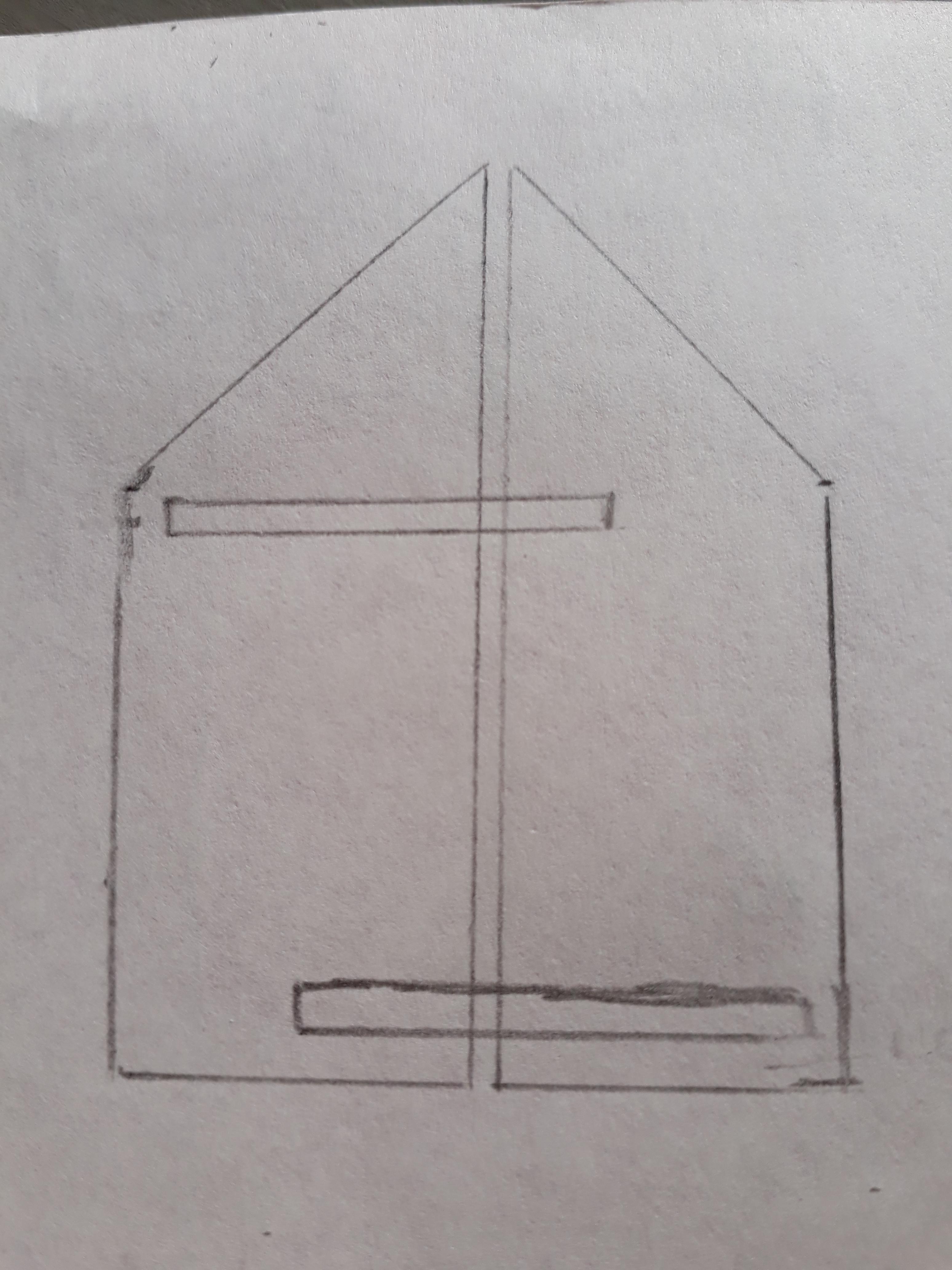 wandbord van hout