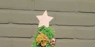Wollige kerstboom