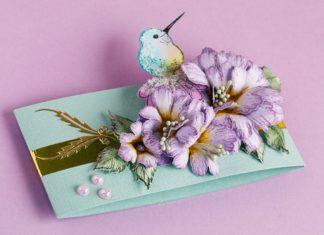 Pop-up kaart kolibrie