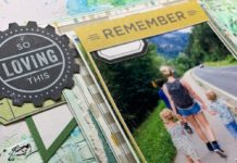 Mixed media: lay-out vol herinneringen