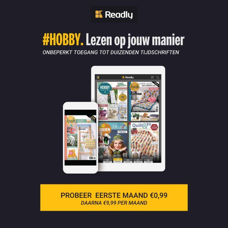 Hobbyhandig op Readly
