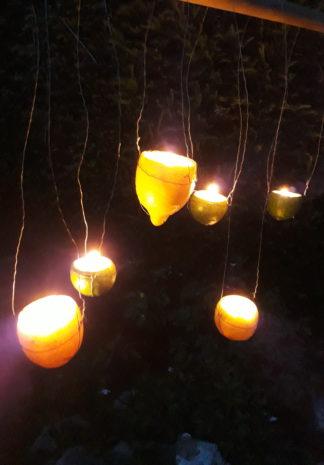 citroen/limoen lichtjes