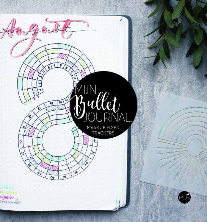 Win Mijn Bullet Journal Trackers van MUScreatief