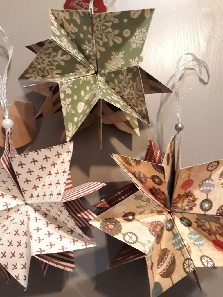 Kerstster of Kerstkaart