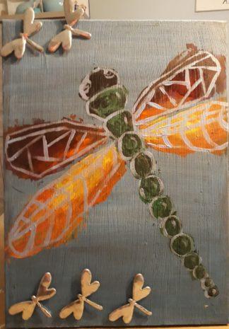 magneetbord schilderij