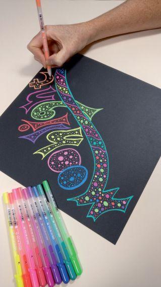 Meer kleur in je werk met de Sakura Gelly Roll Moonlight!
