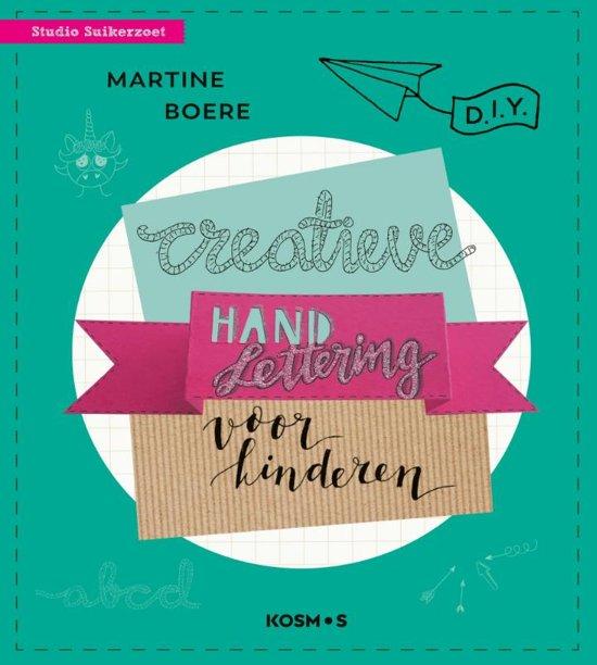 WINNEN: 'Creative Handlettering voor kinderen' + Sakura Pigma Micron fineliners
