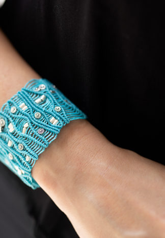 Geknoopte armband: trendy en verfijnd