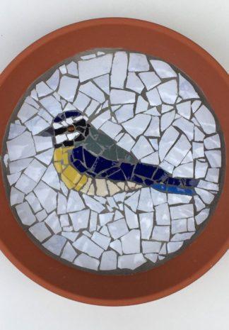 Vogelschaaltje Mozaïek