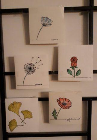 zeg het met bloemenkaartjes