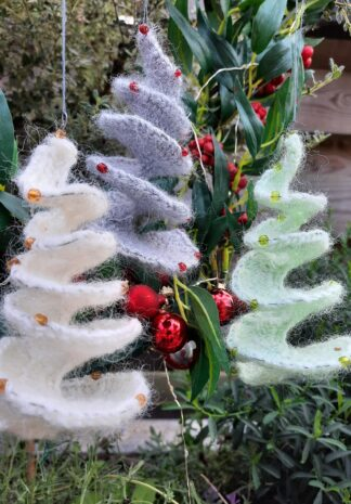 kerstboom spinner haken